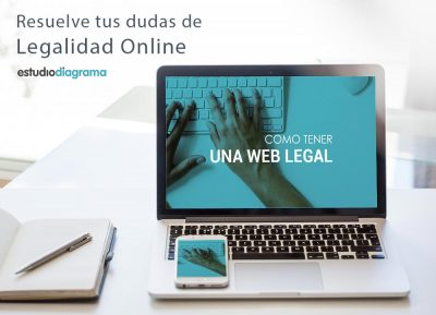 como tener una web legal